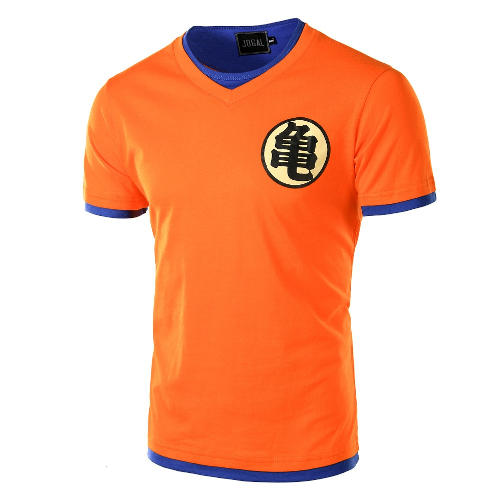 Dragon Ball Z T Shirt Erkek Moda erkek Rahat T-shirt kısa Kollu Pamuk Goku Anime Cosplay 3D t-shirt Dragon Ball kostümleri